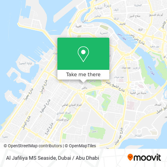 Al Jafiliya MS Seaside map