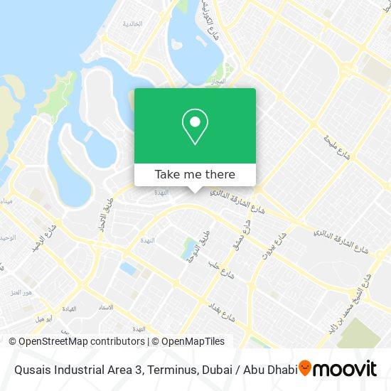 Qusais Industrial Area 3, Terminus map