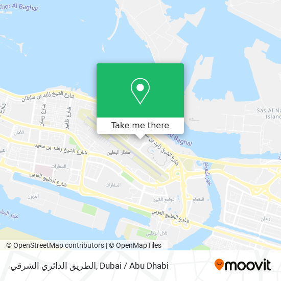 الطريق الدائري الشرقي map