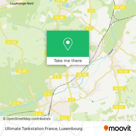 Ultimate Tankstation France map