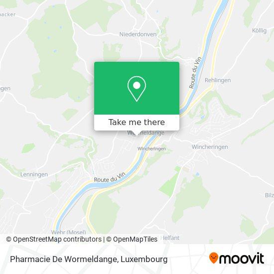 Pharmacie De Wormeldange map