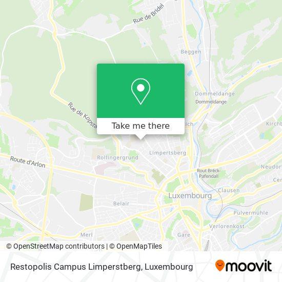Restopolis Campus Limperstberg map