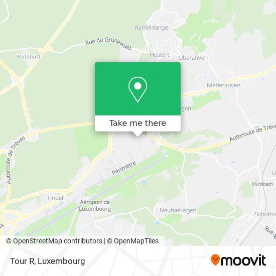 Tour R map