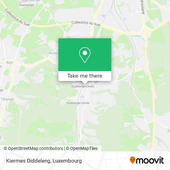 Kiermes Diddeleng map