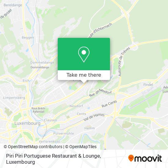 Piri Piri Portuguese Restaurant & Lounge map