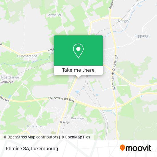 Etimine SA map