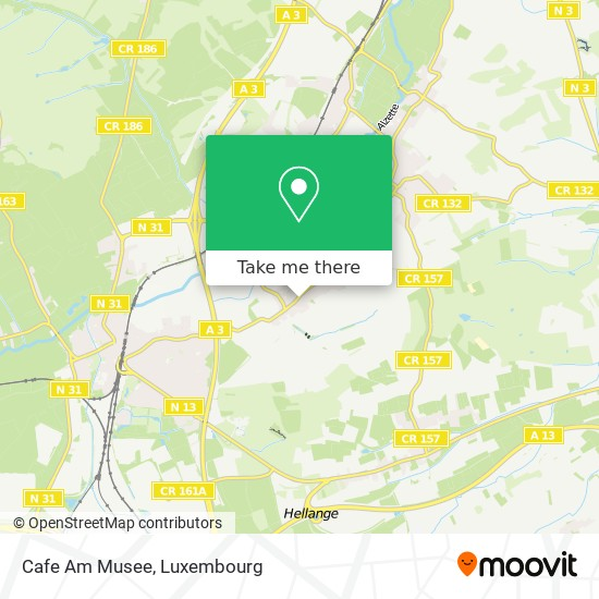 Cafe Am Musee map