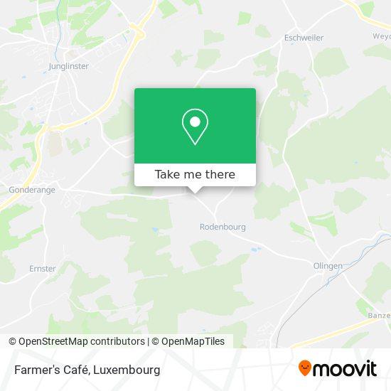 Farmer's Café map