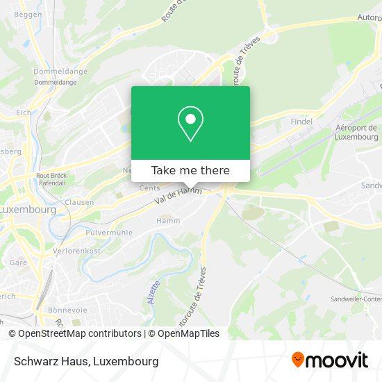 Schwarz Haus map