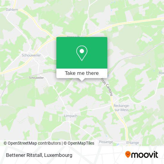 Bettener Ritstall map