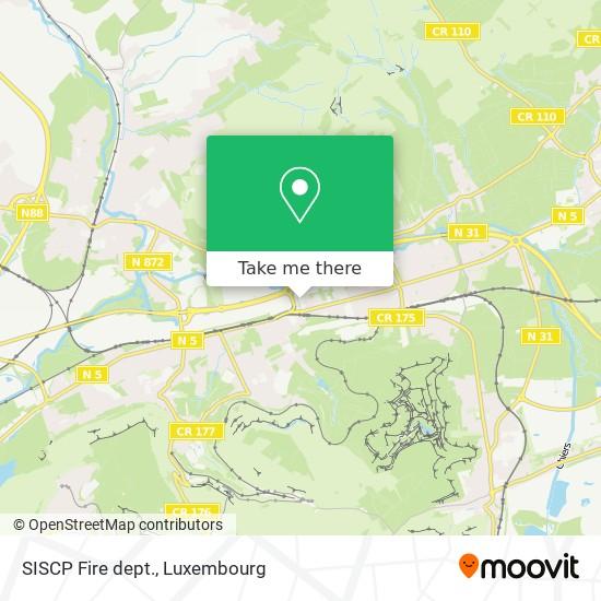 SISCP Fire dept. map