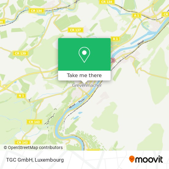 TGC GmbH map
