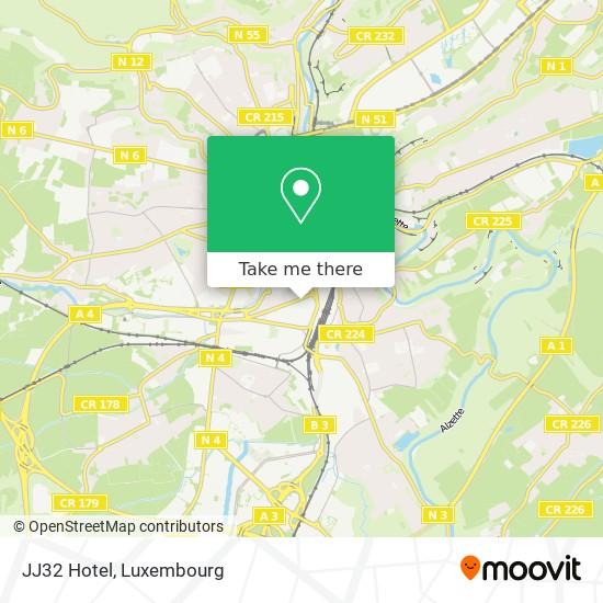 JJ32 Hotel map