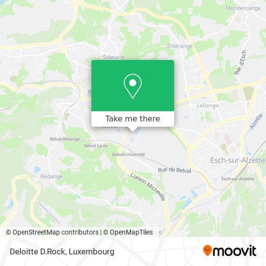 Deloitte D.Rock map