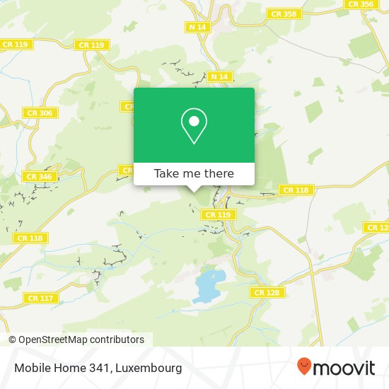 Mobile Home 341 map
