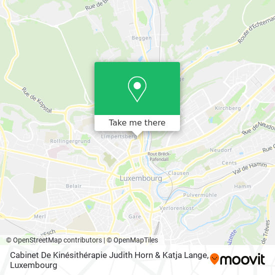 Cabinet De Kinésithérapie Judith Horn & Katja Lange map