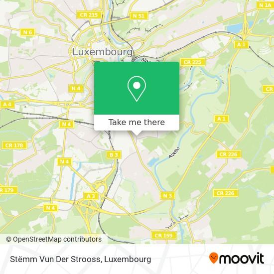 Stëmm Vun Der Strooss map