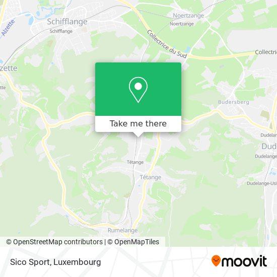 Sico Sport map