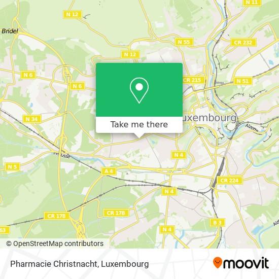 Pharmacie Christnacht map