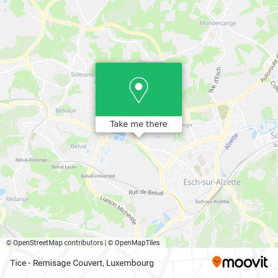 Garage Tice map