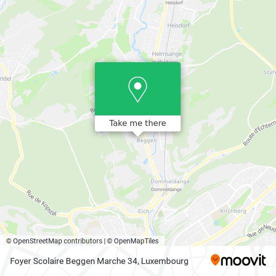 Foyer Scolaire Beggen map