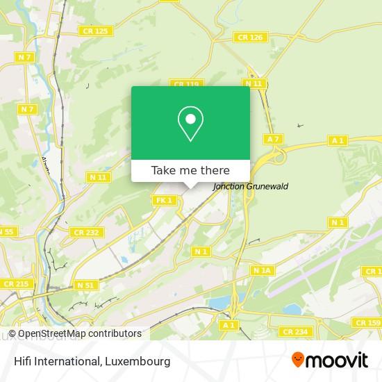 Hifi International map