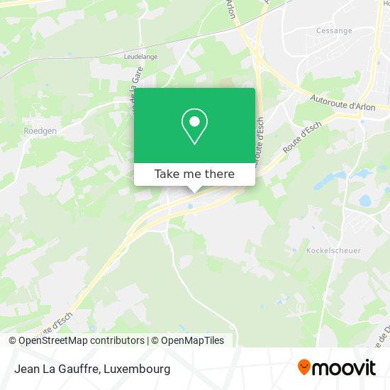 Jean La Gauffre map
