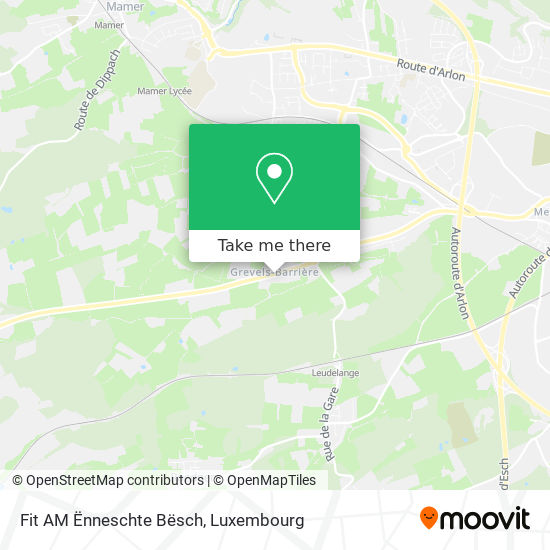 Fit Am Ënneschte Bësch map