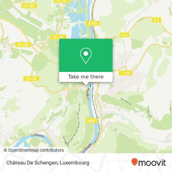 Château De Schengen map
