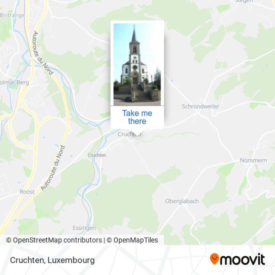 Cruchten map