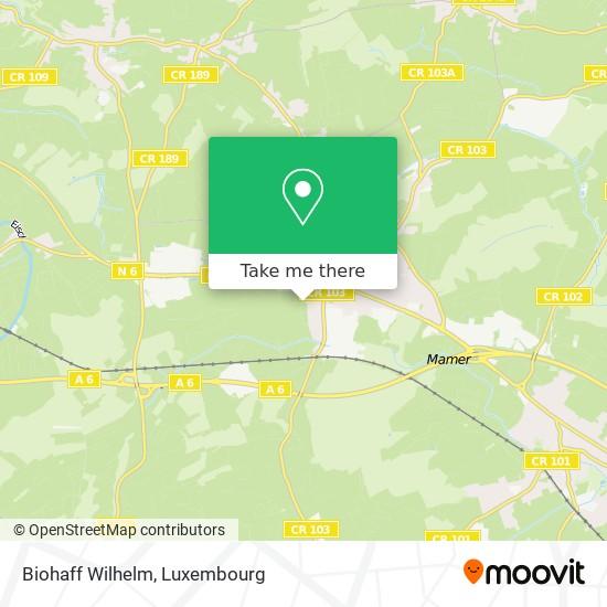 Biohaff Wilhelm map