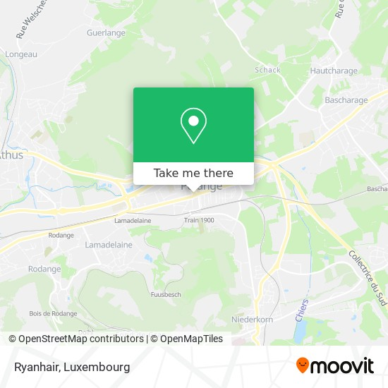 Ryanhair map