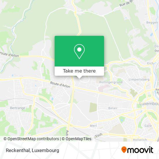 Reckenthal map