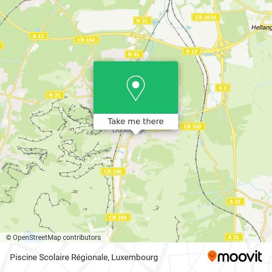 Piscine Scolaire Régionale map