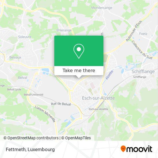Fettmeth map