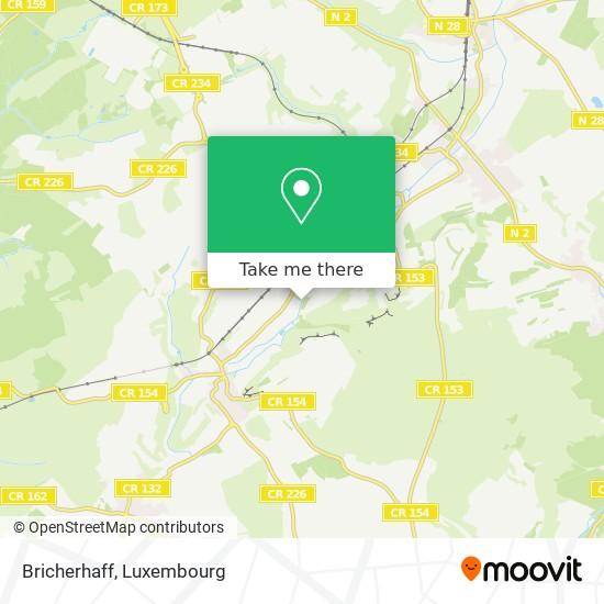Bricherhaff map