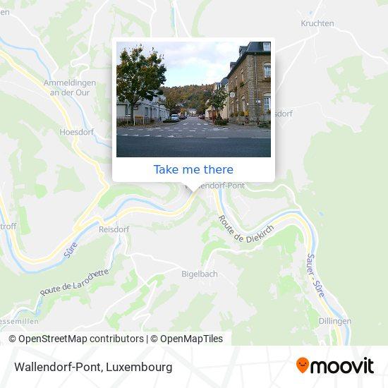 Wallendorf-Pont map
