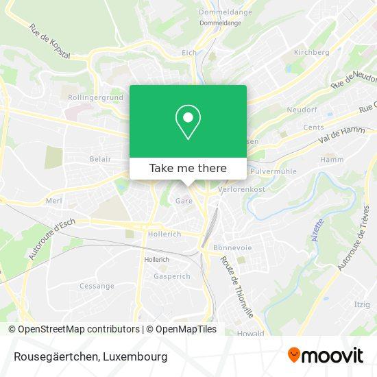 Rousegäertchen map