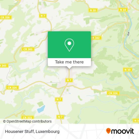 Housener Stuff map