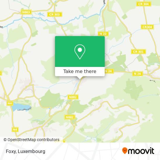 Foxy map
