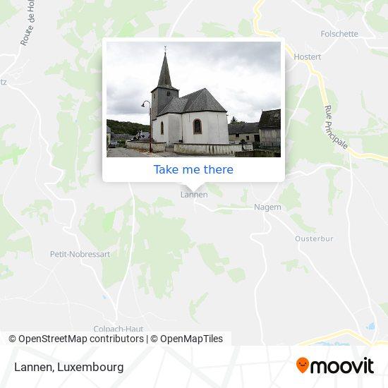 Lannen map