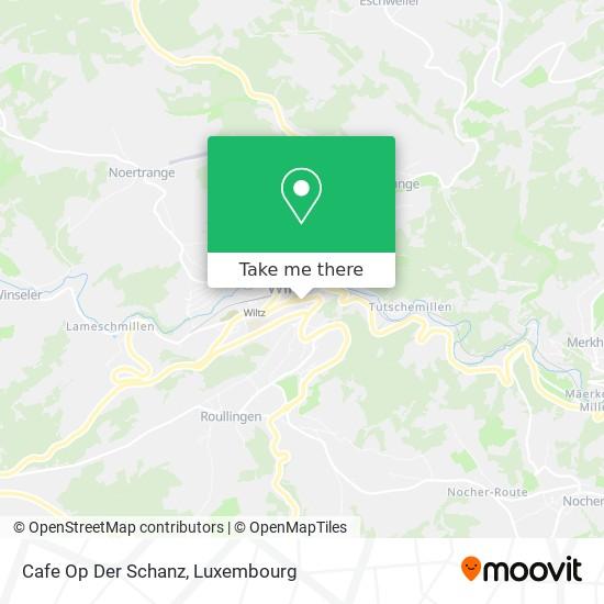 Cafe Op Der Schanz map