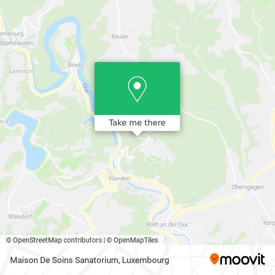 Sevior map