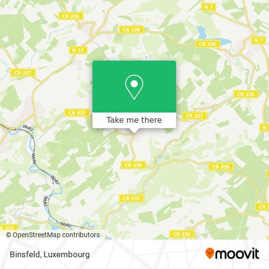 Binsfeld map