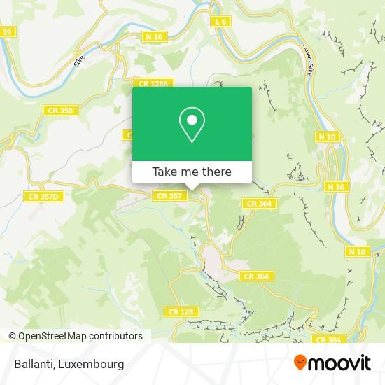 Ballanti map