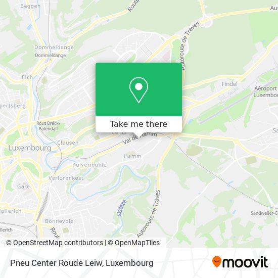 Pneu Center Roude Leiw map