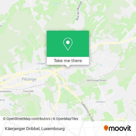 Käerjenger Dribbel map