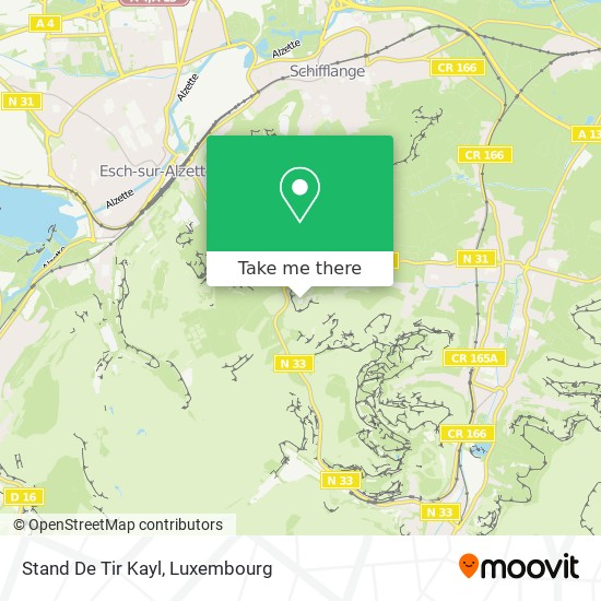 Stand De Tir Kayl map