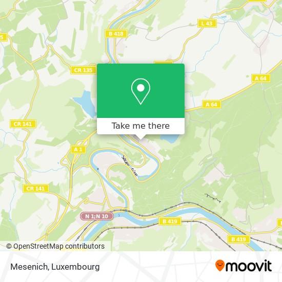 Mesenich map