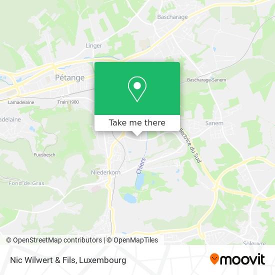 Nic Wilwert & Fils map